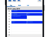 Single team calendar view - all your meetings at a glance